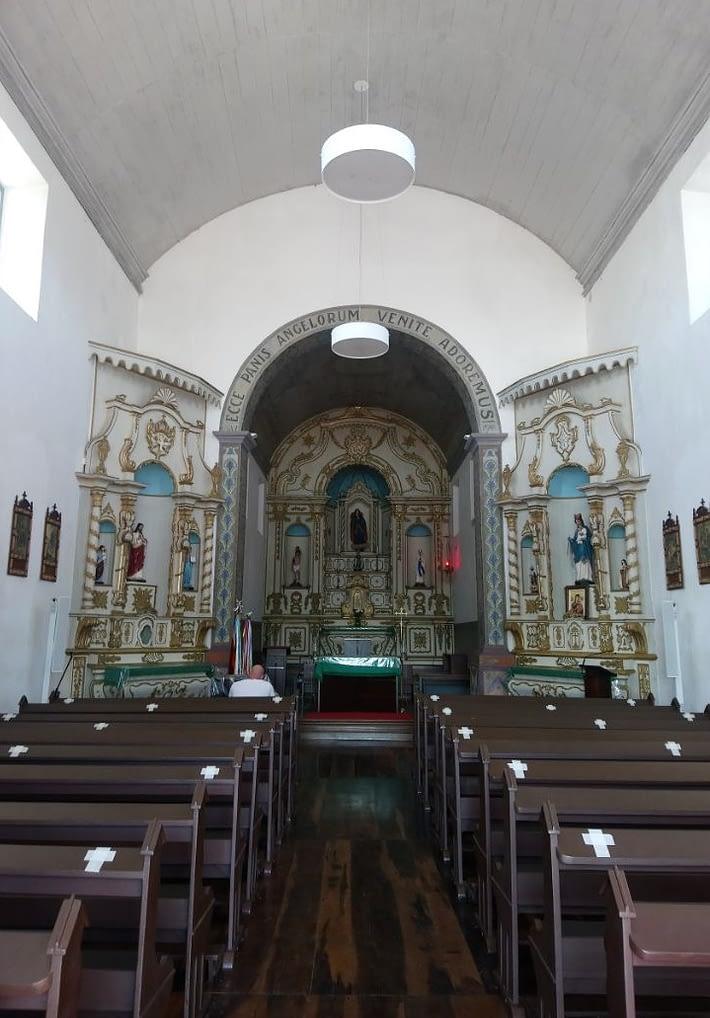 Старая португальская церковь во Флорианополисе