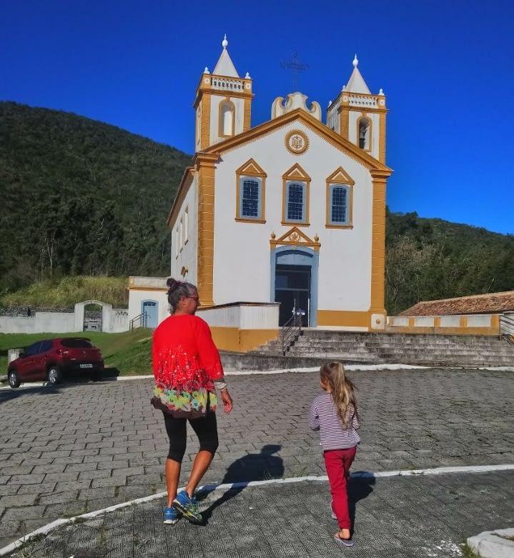 Католическая церковь в историческом районе Флорипы